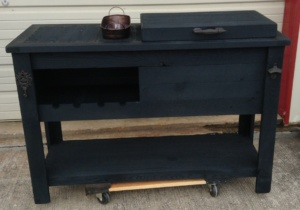 black-cooler-table