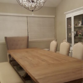 Farmhouse Dining Room Table Bench And Chairs