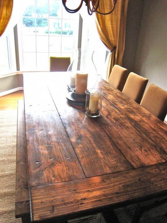 Farmhouse Table, Bench and chairs ~ Rustic WoodWorx