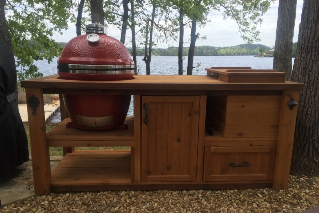 kamado-joe-rustic-grill-table-with-ice-chest-rustic-woodworx