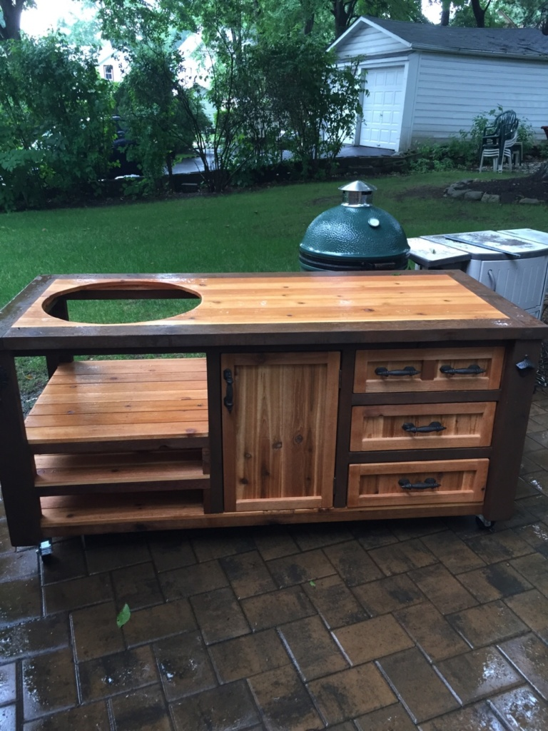 Grill Master 3 Rustic Woodworx